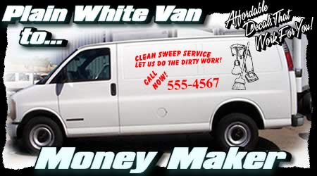 Advertising Decals Truck Van Semi Vinyl Lettering
