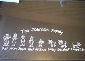 wow! That a great looking family sticker!