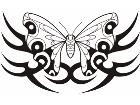 Butterfly Tribalized 1 1 0 Decal