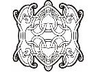 Celtic Ornaments 0 0 0 8w Decal