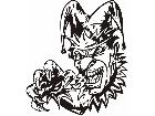 Clowns Jokers Detailed 0 3 0 Decal