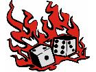 Dice On Fire G D 1 Decal