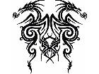 Dragon Tribal Double Side Decal