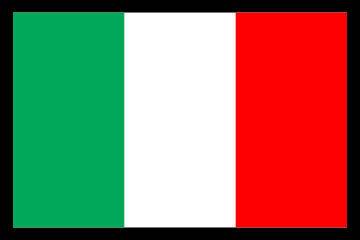 Customize this Italian_Italy Flag Decal