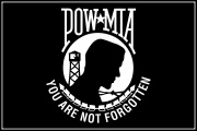 POW_MIA_Vietnam Flag Decal Graphic