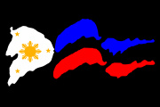 Philippines_Filipino Flag Decal Graphic