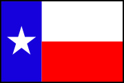 Texas_State Flag Decal Graphic
