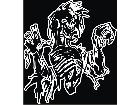 Zombie Attack Decal