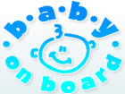 Baby on Board Decals for Car Windows