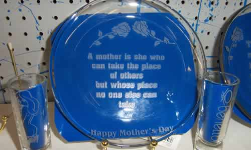 More Glass engraving Examples