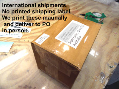 international shipping decals